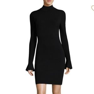 Michael Kors Bell Sleeve Sweater Midi Dress